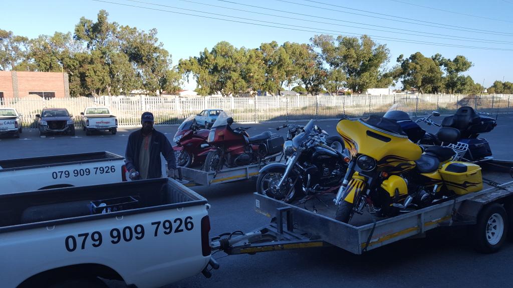 Bike Transporting. Motorbike Transport. Motorcycle Transport.