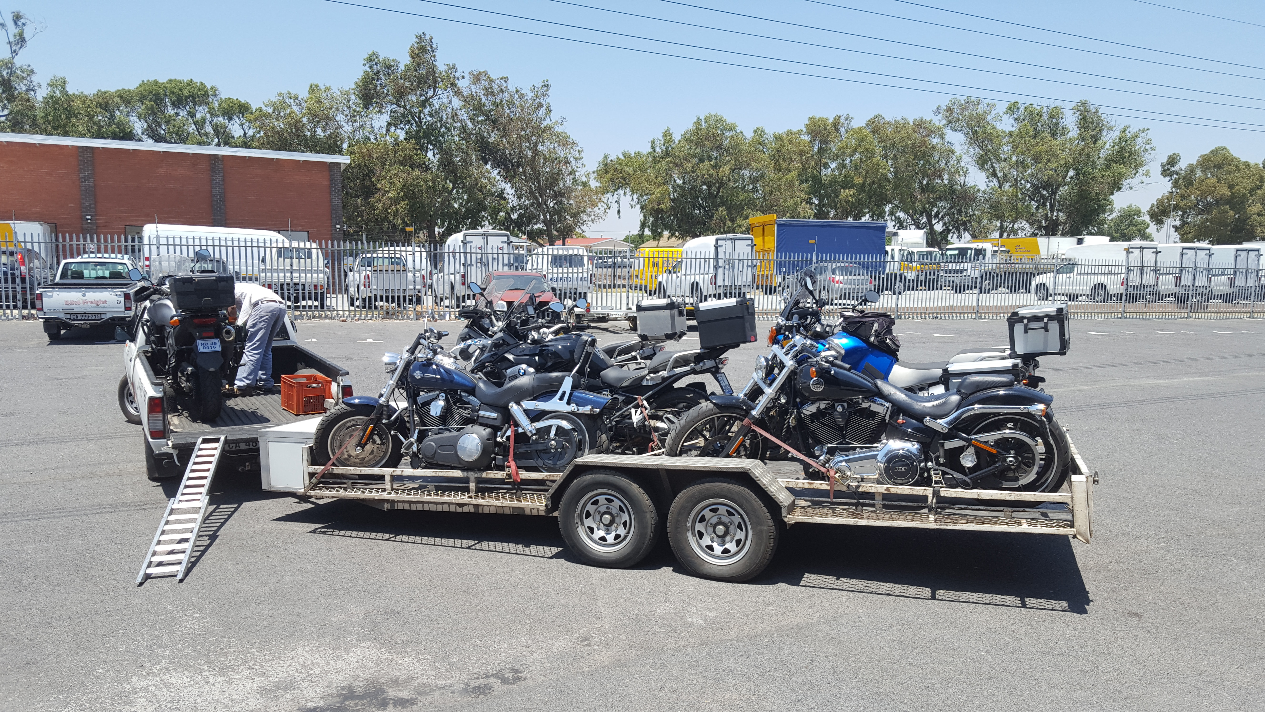 Motorcycle Transport South Africa We Transport