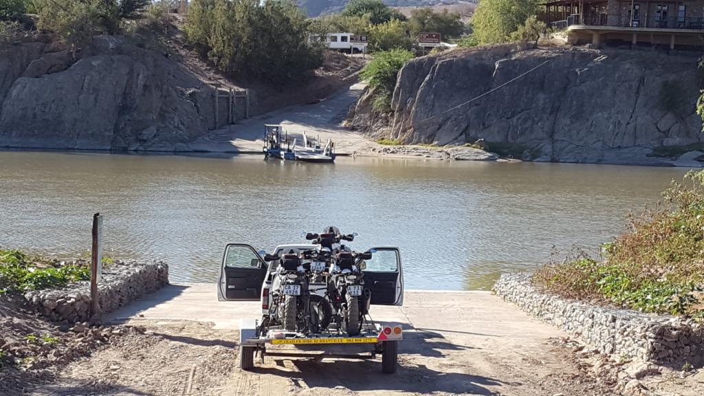 KTM 1190 Transport Namibia