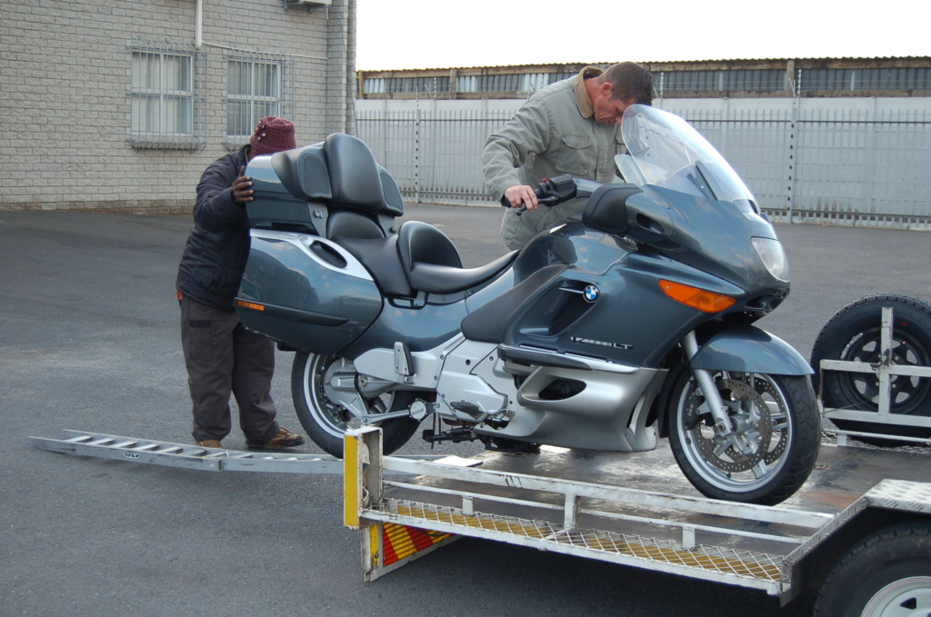 Motorcycle transport Holiday bookings
