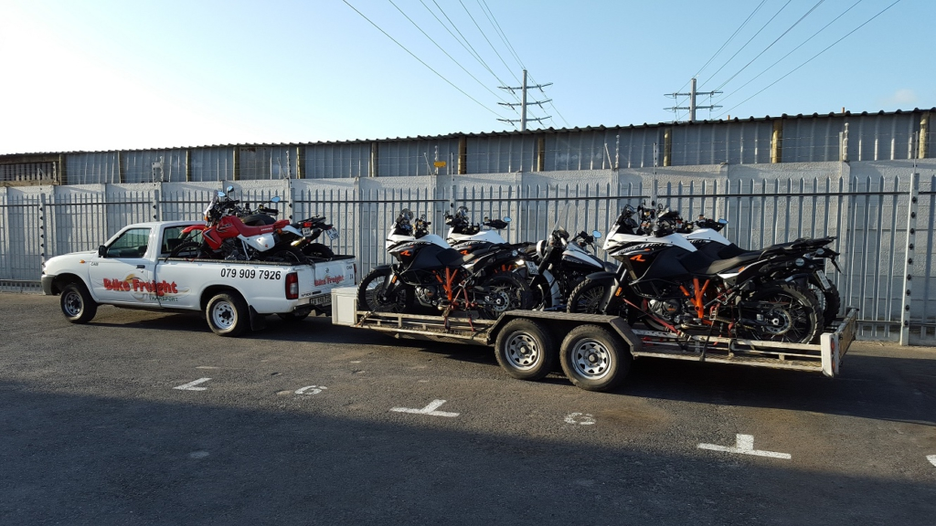 Ducati Motorcycle Transport
