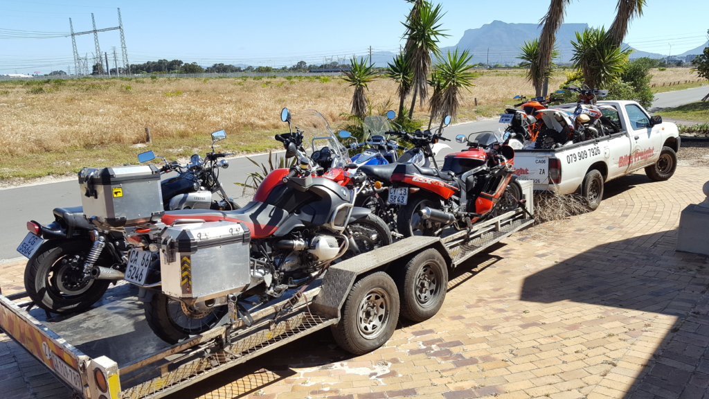 Motorcycle transport trip 226