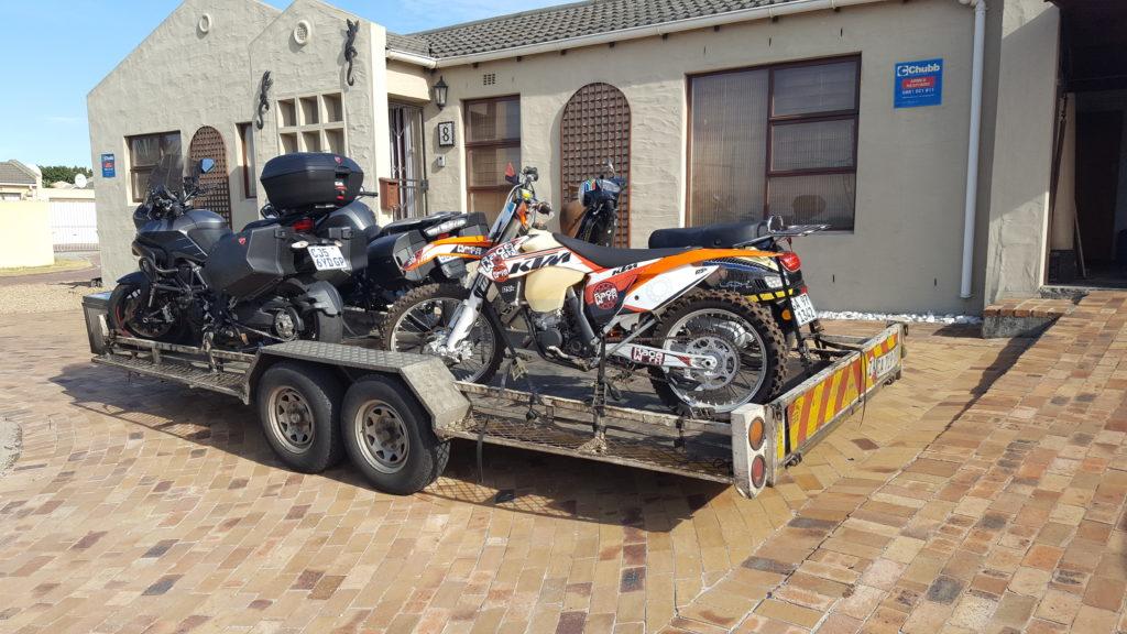 Motorbike transport trip 239