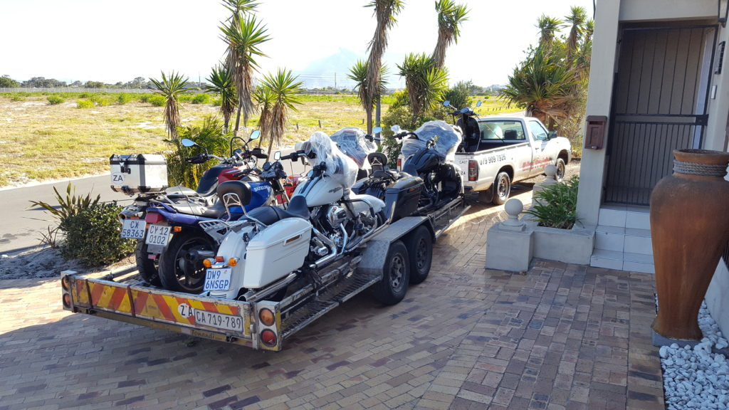 Motorcycle transport trip 261