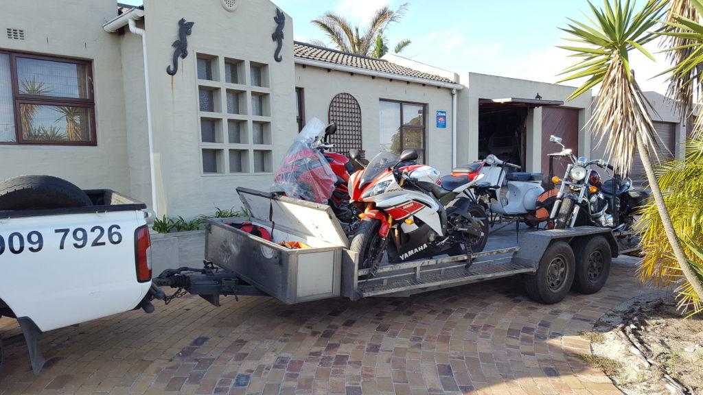 Motorcycle transport Port Elizabeth