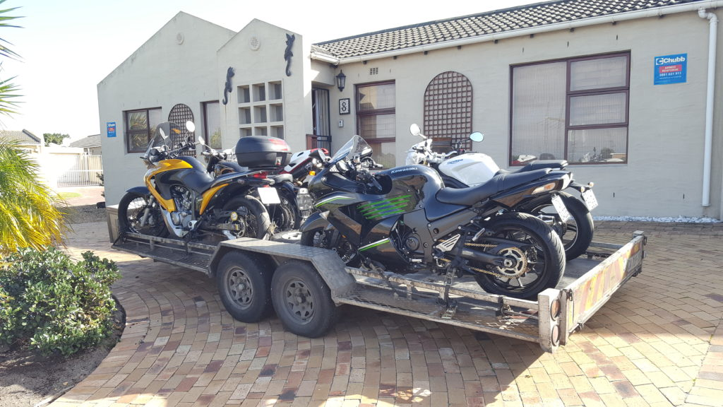 Motorcycle transport trip 251