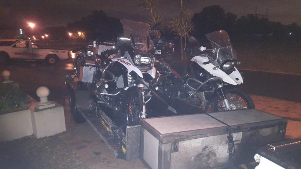 Transporting motorbikes trip 253