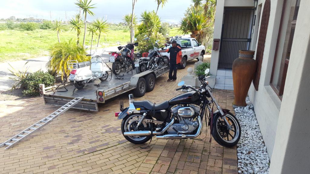 Motorbike transport trip 255