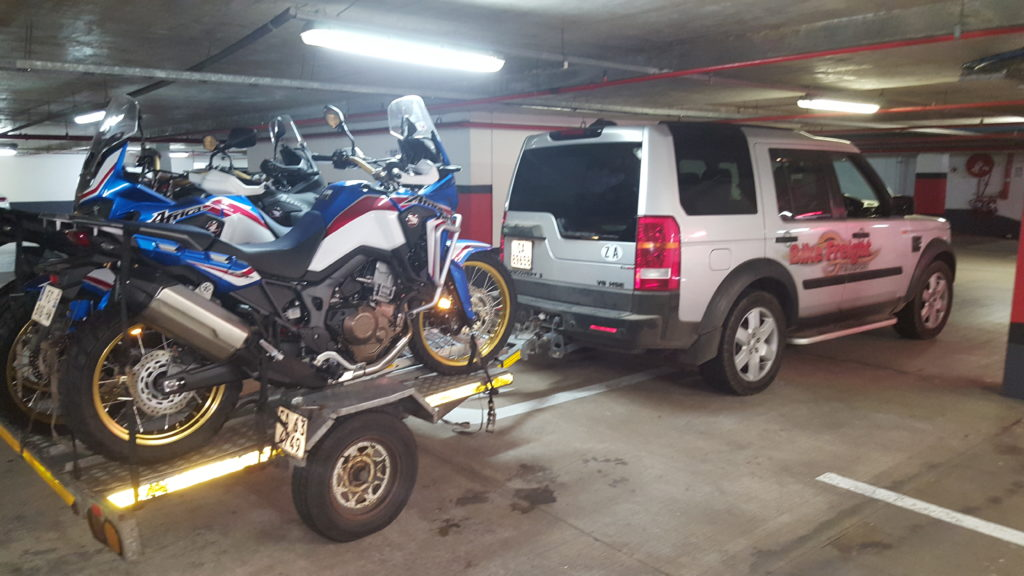 Bikes delivered in Port Elizabeth.